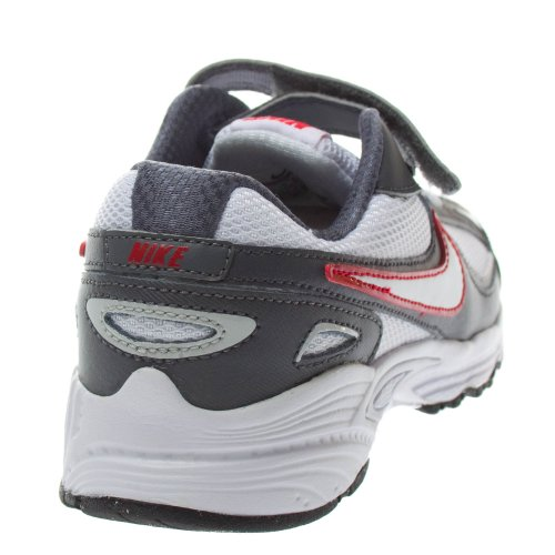Nike - Nike Incinerate (PSV) scarpe running sneakers bianche grigie rosse junior Bianco