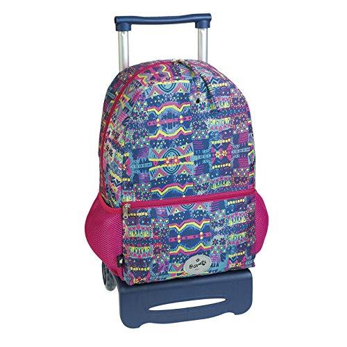 mochila escolar carro ruedas KLIMT by BUSQUETS
