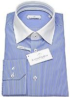 Einhorn Herren Hemd Modern Fit Kontrastkragen blau / weiß 353574.1059 25