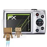 atFoliX Displayschutz für Canon PowerShot A2500 Spiegelfolie - FX-Mirror Folie mit Spiegeleffekt