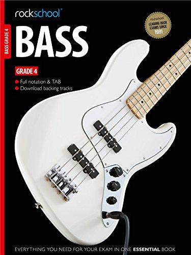 Rockschool Bass - Grade 4 (2012-2018). Sheet Music, CD for Bass Guitar