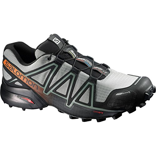 Salomon Speedcross 4 Cs, Scarpe da Escursionismo Uomo Multicolore (Shadow/Black/Hawaiian S)