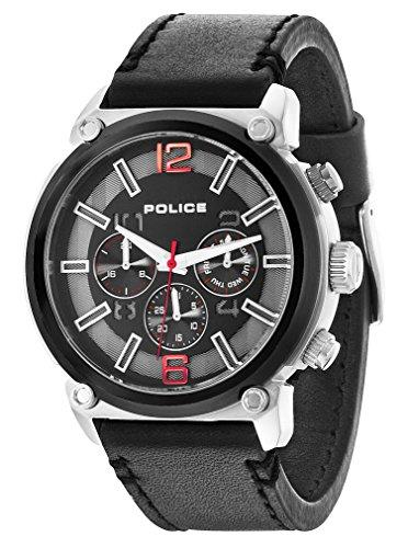 Police Herren-Armbanduhr Analog Quarz P14378JSTB-02