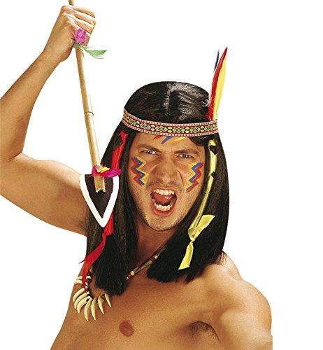 WIDMANN Comanche Indianerperücke für Kostüme und Outfits