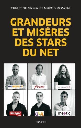 Grandeurs et misres des stars du Net de Simoncini. Marc (2012) Broch