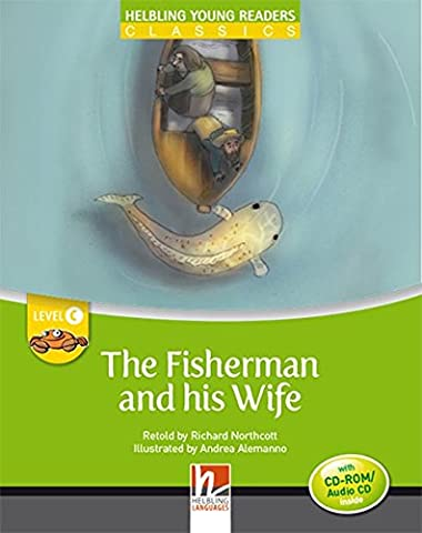 The Fisherman and his Wife - Young Reader Level C with Audio CD