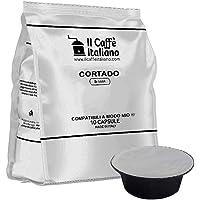 FRHOME - 80 Capsule al Cortado - Compatibili con Macchine da caffè Lavazza a Modo Mio – Il Caffè Italiano