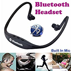 Gadget Heros Sports Wireless Bluetooth Headset Headphone Earphone For Apple iPhone Samsung & Other Mobile Phone PC Tablet