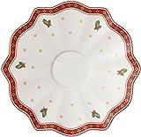 Villeroy & Boch Toy's Delight Kaffeebecher-Untertasse, weiß, aus Hochwertigem Premium Porzellan, 19 cm