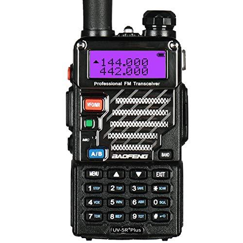 Le talkie-walkie Baofeng UV-5R Plus Noir: une attention pour votre confort