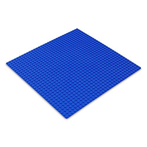 Katara 1672 - Platte Bauplatte 100% Kompatibel Lego, Sluban, Papimax, Q-Bricks, 25,5cm x 2 Preisvergleich