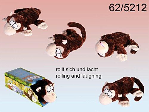 Out of the Blue 62/5212 - Rollender und Lachender Affe mit Bewegungssensor für 3 Mignon Batterien AA, circa 29 cm