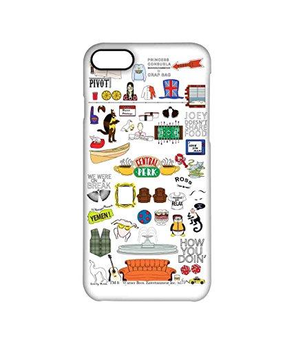 Macmerise Friends Doodle - Pro Case for iPhone 7 Mc Sidrazz