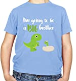 Best Big Brother Tshirt Kids - Big Brother Dinosaur - Kids T-Shirt - Light Review