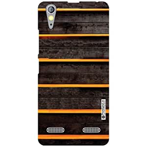 Lenovo A6000 Plus Back Cover - Wood Art Designer Cases