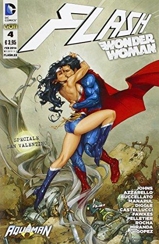 Flash. Wonder woman: 22