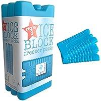 3pk del congelador bloque - mantiene su comida o bebidas fresco en días de calor 3