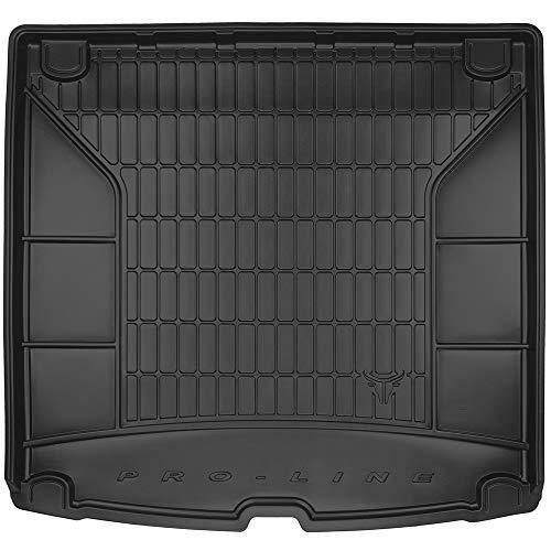 Kofferraummatte - nach Maß - Kofferraumwanne - erhöhte Ränder- hochwertiger Gummi- Anti Rutsch - einfache Reinigung - 1766543