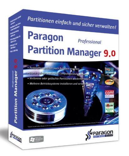 Preisvergleich Produktbild Paragon Partition Manager 9.0 Professional Edition