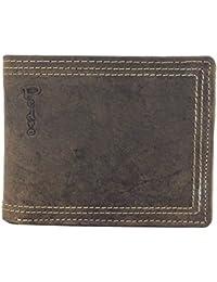 b96f744f9910c PEDRO Herren Echt-Leder Geldbörse Portemonnaie Brieftasche Portmonee  Geldbeutel Kredit-Kartenetui Wallet Vintage Organizer…