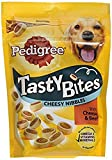 Pedigree Dog Treats - Tasty Bites Cheesy Nibbles with Cheese and Beef, 140 g (Pack of 8)