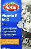Abtei 4151865 Vitamin E 600 N 30 Kapseln
