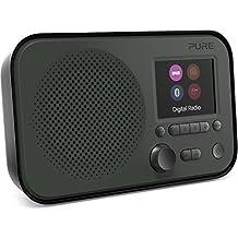 Pure Elan BT3 Portable Digital DAB/DAB+/FM Radio with Bluetooth - Alarm - Colour Screen - Battery / Mains Powered - Graphite