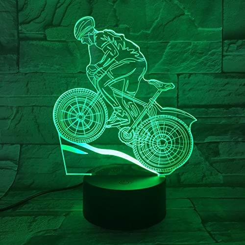 Badminton 3D nachtlicht USB 7 Farbwechsel LED tischlampe Kinder Schlafzimmer Schlaf Beleuchtung Geburtstag Urlaub Geschenk Dekoration