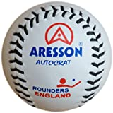 Aresson Autocrat Rounders Ball - White, 19.5cm