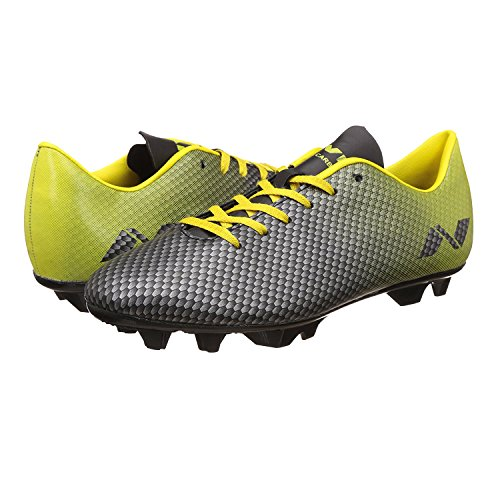 5 O'Clock Sports Nivia Premier Carbonite Range Football Studs (Black/Yellow)  available at amazon for Rs.499