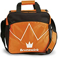Brunswick Flash Single Tote–Bolsa de Bolas de Bolos para–Bola de Bolos y–Zapatos de Bolos