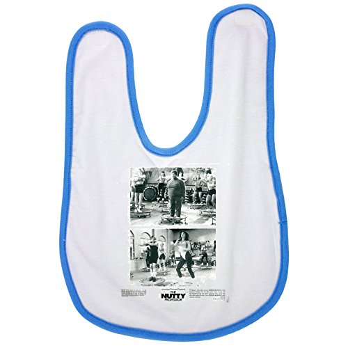 The film The Nutty Professor baby bib in blue