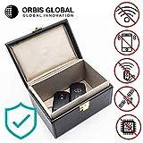 Orbis Global Keyless Car Signal Blocker | Anti Theft Faraday Box Cage | Car Security | RFID Faraday Key Fob Protector Blocker |Keyless Entry Car | Key Faraday Fob Pouch Bag Cover Holder Faraday Box