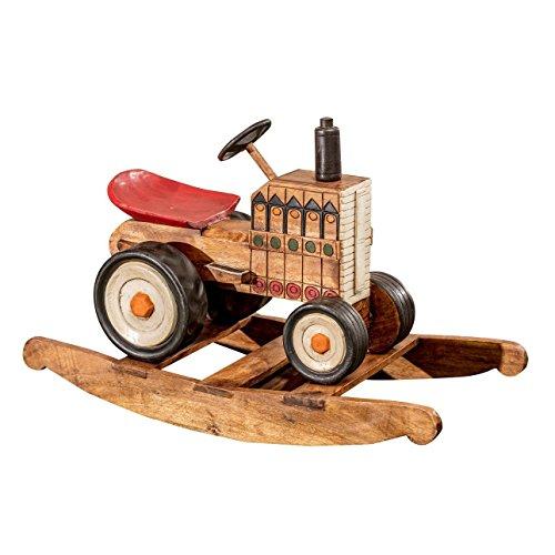 Dekoria Schaukelspielzeug Tractor Schaukelspielzeug, Spielzeugmöbel, Schaukelstuhl