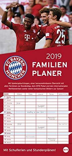FCB Familienplaner - Kalender 2019