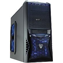 Discountedpcs Juegos Personalizados, Hogar, PC de oficina AMD A8 6600K Quad Core 3,9 ghz AMD HD8570D Gráficos 16 GB RAM, 2 TB HD, DVD-RW, Gigabyte GA-F2A68HM-HD2,Windows 8.1 64 bits , 300Mbps PCI WiFi , Vantage Caja Azul,500w psu