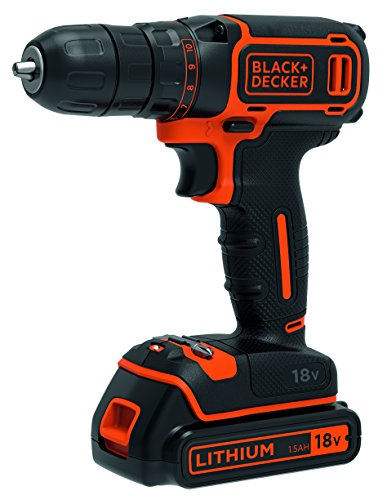 Perceuse sans fil Black & Decker BDCDC18-QW