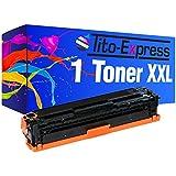 PlatinumSerie® 1 Toner-Patrone XL Schwarz kompatibel für HP CB540A 125A HP Color LaserJet CM 1512 NFI CM 1512 W CP 1513 CP 1513 N