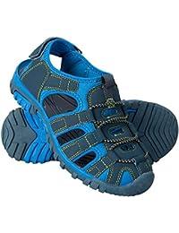 Mountain Warehouse Bay Kids Shandals - Neoprene Shoes Sandals, Comfortable Childrens Flip Flops, Midsole, Adjustable Summer Shoes -Ideal Footwear for Walking, Travelling