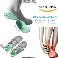 pedimend Silikon Plantarfasziitis Achilles Tendon Ferse Unterstützung (4pairs–8)–Classic Gel Schuh Pads–... preisvergleich bei billige-tabletten.eu