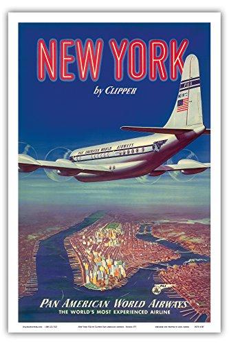 new-york-usa-mit-dem-pan-am-clipper-boeing-377-uber-manhattan-insel-pan-american-world-airways-vinta