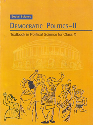 Democratic Politics – II Textbook in Social Science for Class – 10  – 1072 51VZvoz01uL