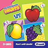 Frank - 10209 Fruits Puzzle For 3 Year Old Kids And Above