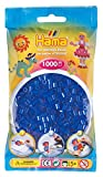 HAMA 207-36  - Cuentas color azul de neón (1000 unidades) [Importado de Alemania]