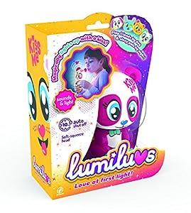 LUMILUVS TIgerHead Toys, Ltd. - Oso Mascotas Electrónicas con Luz y Sonidos. , Color Rojo (59351)