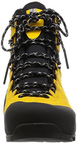 Salomon X Alp Mtn Gtx, Chaussures de Randonnée Homme Noir - Negro (Black / Bee-X / Aluminium)
