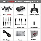 WSWRJY Drones,Drone Camera,Dual Gps Rc Drone Mit 720 P/1080 P Hd Kamera Wifi Fpv Rc Quadcopter Folge Mir-Return Rc Hubschrauber by WSWRJY_C