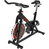 GORILLA SPORTS® Indoor Cycling Bike mit 13 kg Schwungrad –