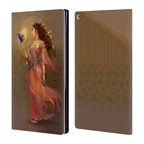 Offizielle Renee Biertempfel Botschafter Jungfrau Brieftasche Handyhülle aus Leder für Amazon Fire HD 10