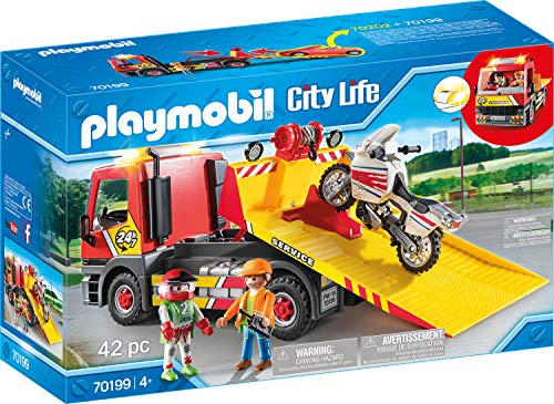 PLAYMOBIL City Life Grúa Remolque
